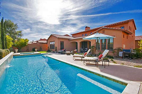 Metro Phoenix Area Homes with a Pool